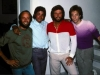 Michael with Bee Gees