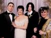 Michael, Elizabeth Taylor and Minnelli-Gest wedding