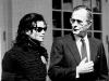 Michael with President George Bush