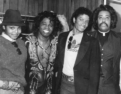Michael and James Brown