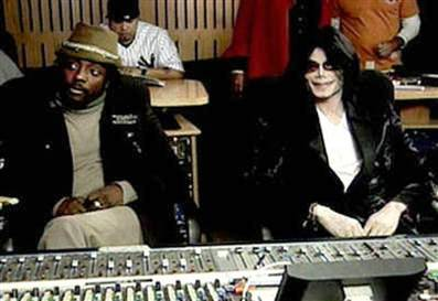 Michael with will.i.am