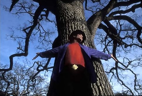 Michael at Neverland the giving tree