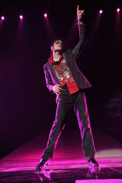 December 25, 2011 - The Immortal Show, Mandalay Bay, Las Vegas