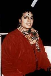 Michael with red jacket