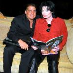 Michael with Brett Ratner