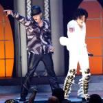 Michael with Justin Timberlake