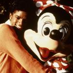 Michael with Minnie Mouse