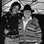 Michael with Paul Anka