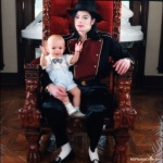 Michael with Prince at Neverland
