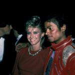Olivia Newton-John and Michael